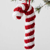 Caron Candy Cane Ornament