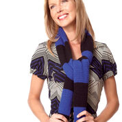 Go to Product: Bernat Quick'n Easy Striped Scarf in color