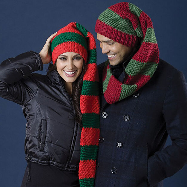 Caron Scarf Hat Duo, Women - S in color