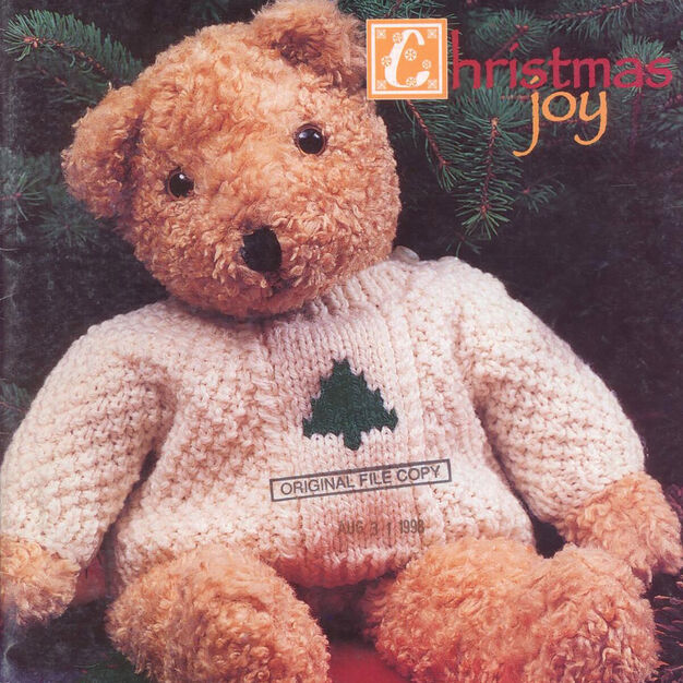 Patons Teddy's Sweater, S in color