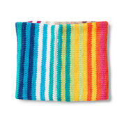 Go to Product: Caron Totally Tubular Rainbow Knit Cowl in color