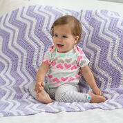 Go to Product: Red Heart Fuzzy Ripple Baby Blanket in color