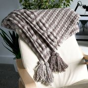 Go to Product: Bernat Textural Cable Knit Throw in color