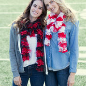Go to Product: Red Heart Ruffled Spirit Scarf, Short in color
