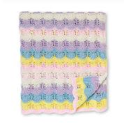 Bernat Baby Ripples Knit Blanket