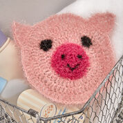 Go to Product: Red Heart Sparkle Pig Scrubby in color