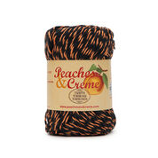 Go to Product: Peaches & Creme Twists Yarn, Black with Orange - Clearance Shades* in color Black with Orange