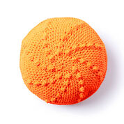 Go to Product: Bernat Bobble Go Round Crochet Pillow, Single Version in color