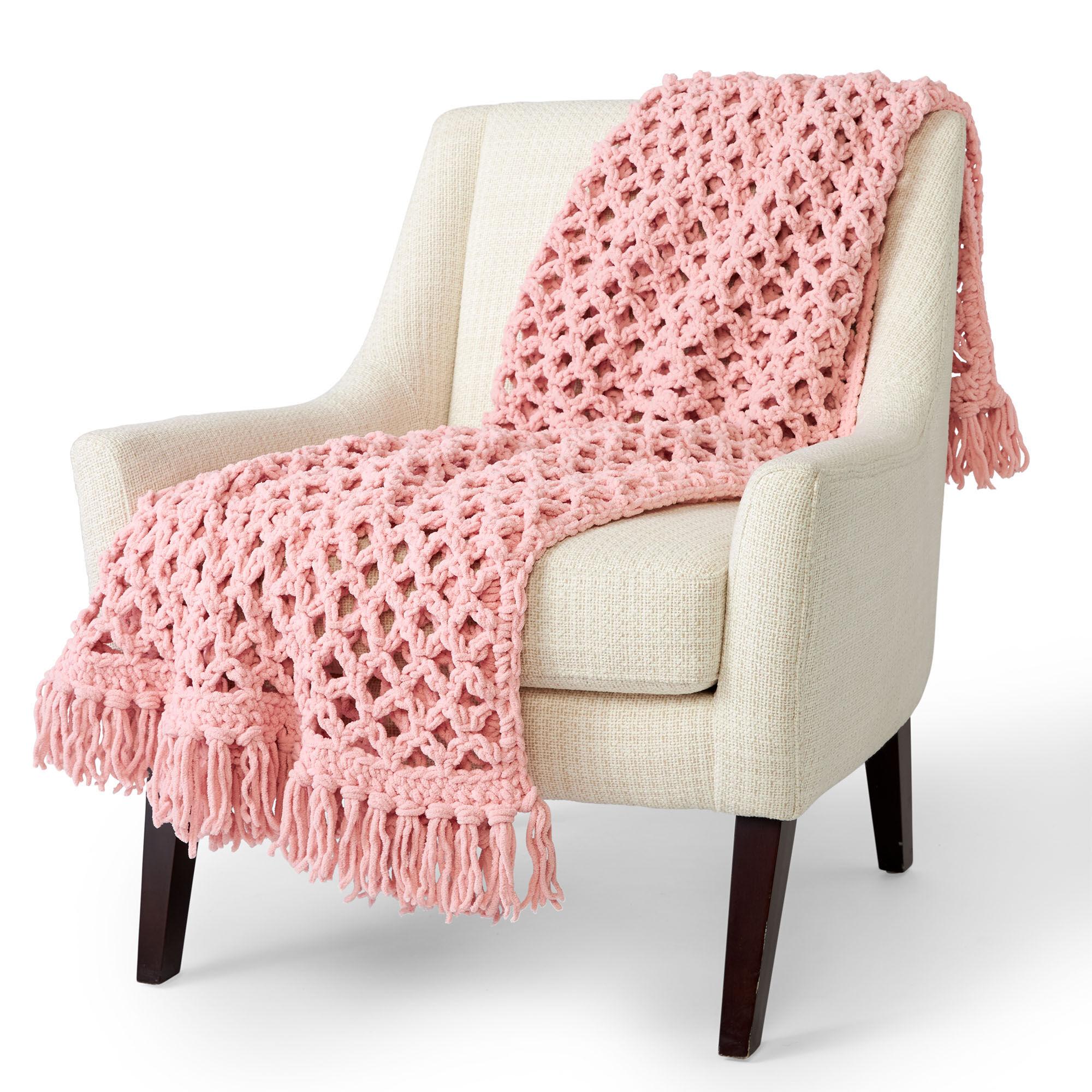 Bernat Love Knot Crcohet Blanket | Yarnspirations