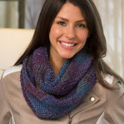Go to Product: Red Heart Entrelac Crochet Cowl in color