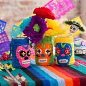 Go to Product: Red Heart Day of the Dead Cozies in color