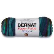 Bernat Super Value Stripes Yarn