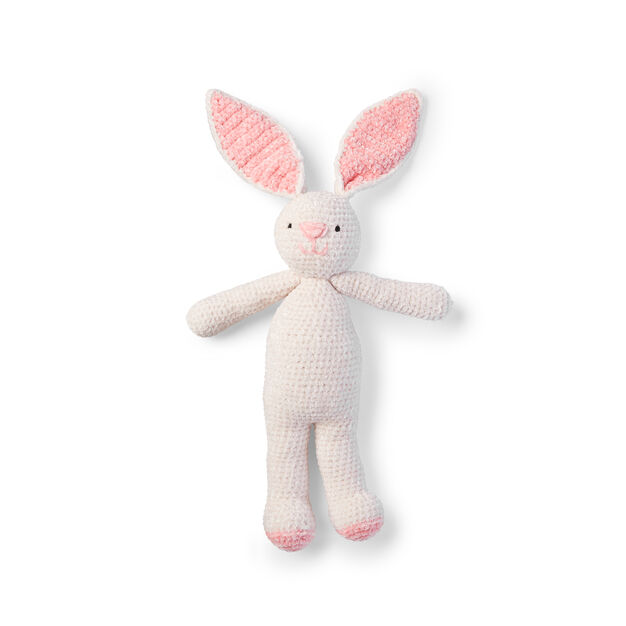 Crochet Beautiful Velvet Plush Bunny