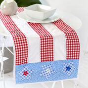 Coats & Clark Patriotic Table Runner