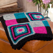 Go to Product: Red Heart Time to Relax Granny Throw in color