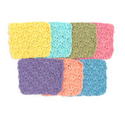 Go to Product: Lily Sugar'n Cream Flowers Dishcloth, Rose Pink in color