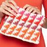 Caron x Pantone Crochet Clutch in color  Thumbnail Main Image 2}