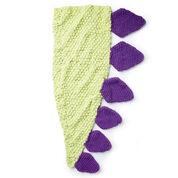 Bernat Dino Tail Crochet Snuggle Sack