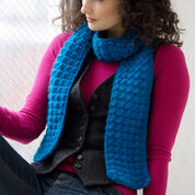 Go to Product: Red Heart Puff Stitch Scarf in color