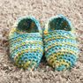 Bernat Quickie Slippers, S in color  Thumbnail Main Image 2}
