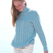 Patons True Blue Set, Sweater - S