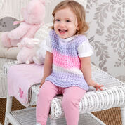 Go to Product: Red Heart Sweetie Pie Baby Vest, 6 mos in color