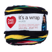 Red Heart It's A Wrap Hues Yarn, Circus