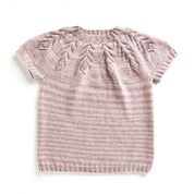 Go to Product: Caron Knit Lace Yoke Tee, XS/S in color