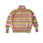 Go to Product: Red Heart Play Misty Stripe Pullover, S in color
