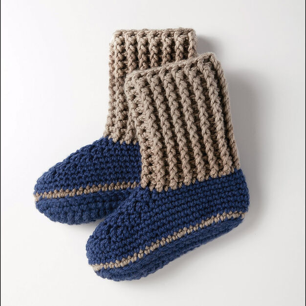 Bernat Slipper Socks Yarnspirations