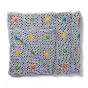 Caron Pin Point Crochet Blanket