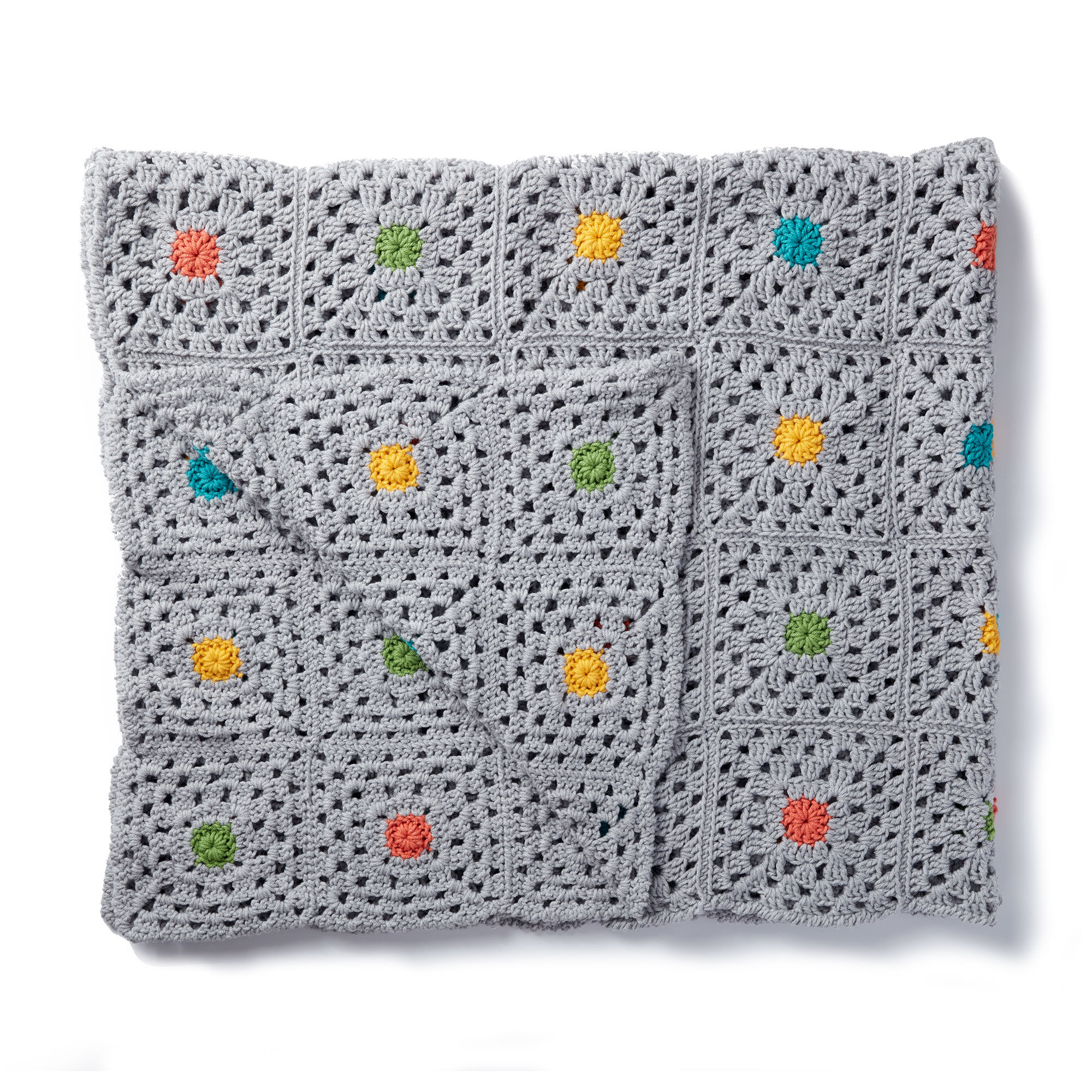 Caron Pin Point Crochet Blanket | Yarnspirations