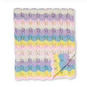 Go to Product: Bernat Baby Ripples Knit Blanket in color