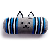 Lily Sugar'n Cream Knit Kitty Bolster