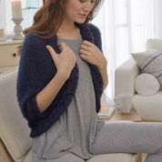 Red Heart The Coziest Cocoon Sweater, XS