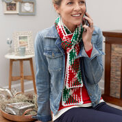 Go to Product: Red Heart Planned Pooling Holiday Scarf in color