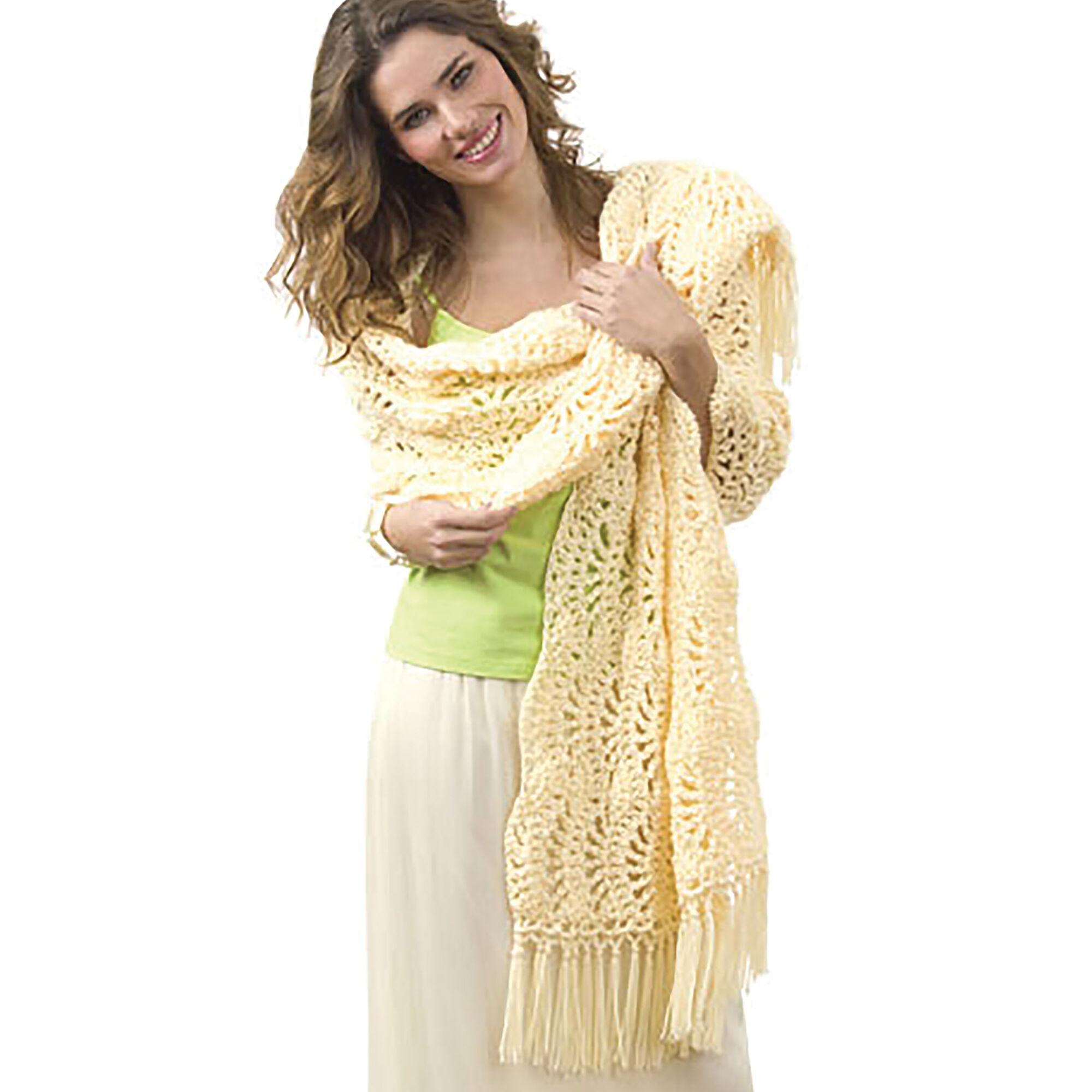 Caron One Skein Wrap | Yarnspirations