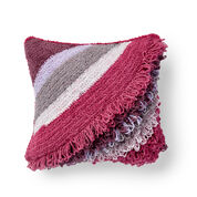 Bernat Breezy Loop Crochet Cushion