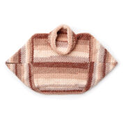 Caron Modular Crochet Pullover, XS/S