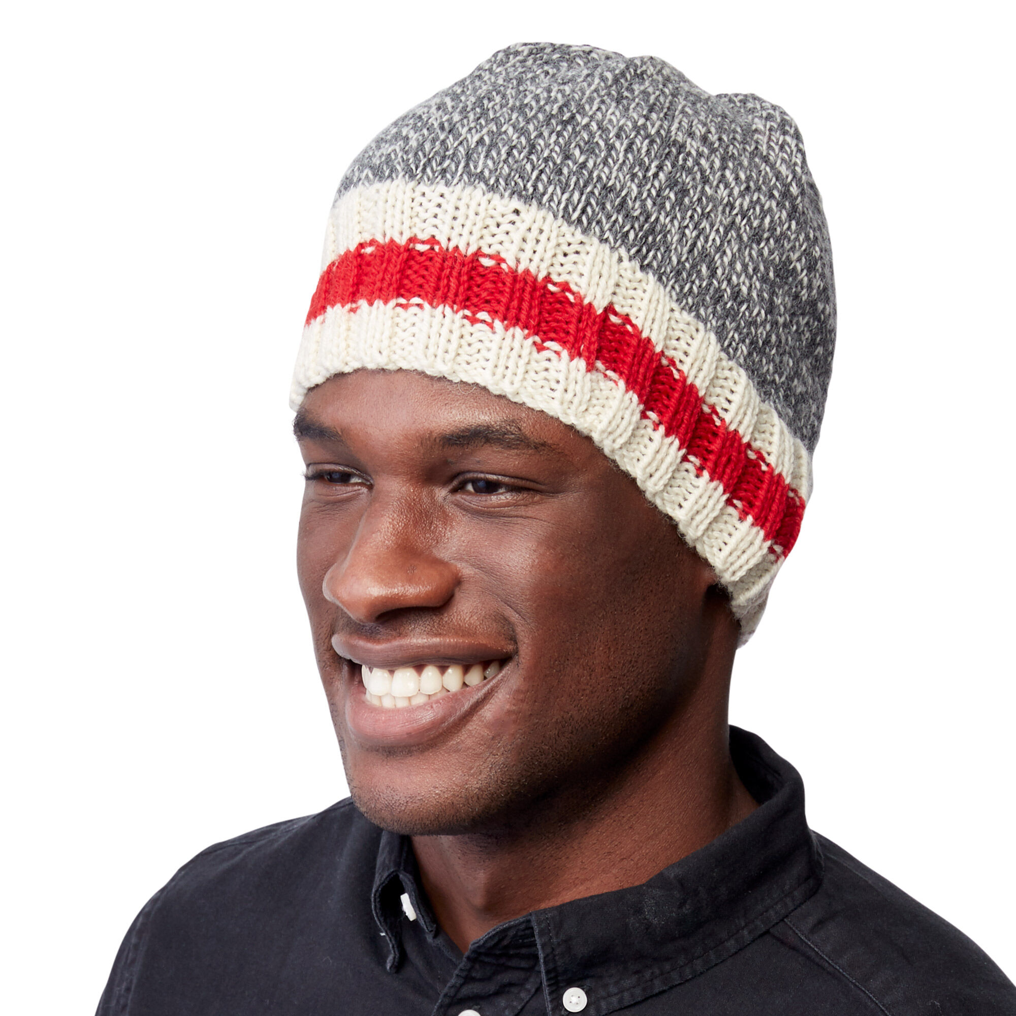 ... Patons Work Sock Hat 3d5f7f335de