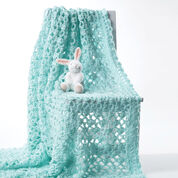 Go to Product: Bernat Crochet Baby Blanket, White in color