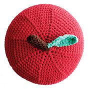 Bernat Crochet Apple A Day Pouf