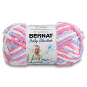 Go to Product: Bernat Baby Blanket Yarn (100g/3.5 oz) in color Pink/Blue Ombre