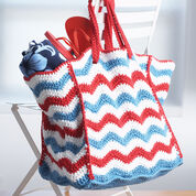 Lily Sugar'n Cream 4th of July Beach Bag, Summer Beach Bag Stitch-Along
