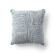 Go to Product: Bernat Swirling Textures Crochet Pillow in color