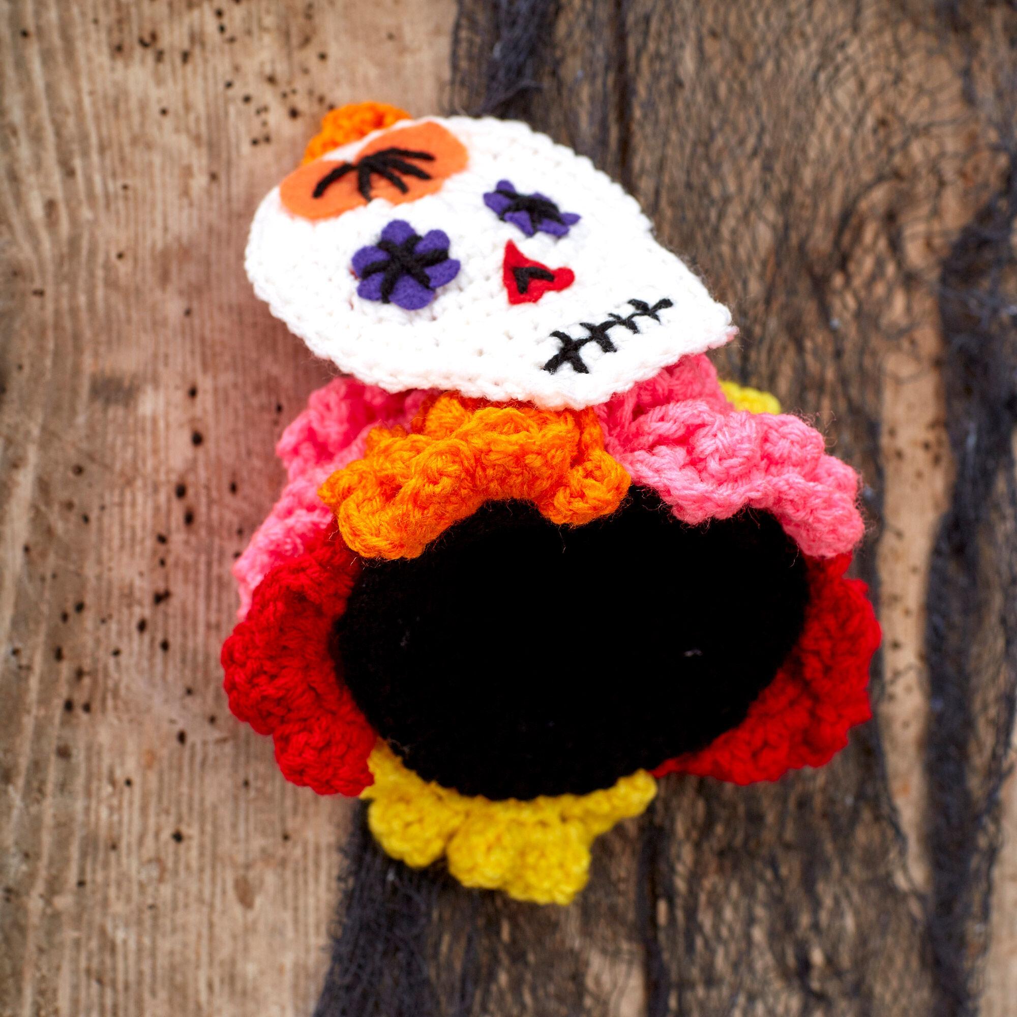 Sugar Skull Amigurumi Free Crochet Pattern • Spin a Yarn Crochet | 2000x2000