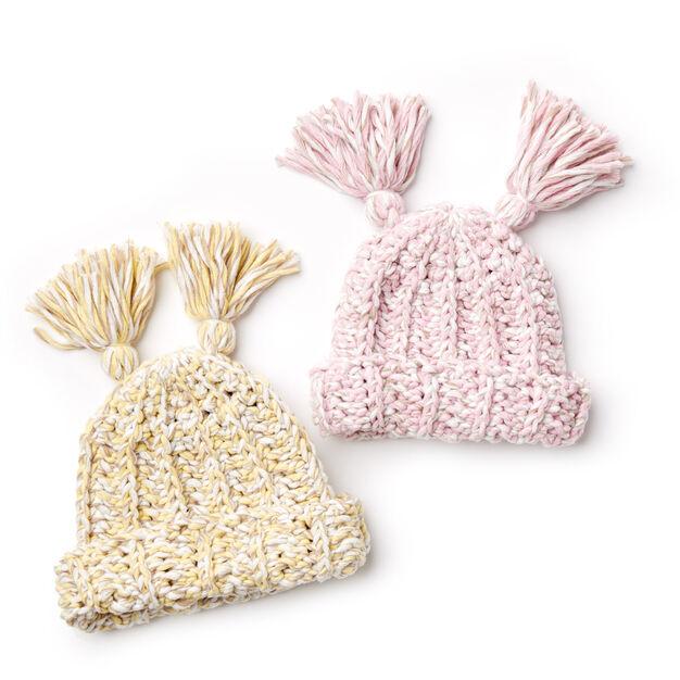 Bernat Crochet Baby Hat Pattern Yarnspirations