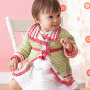 Go to Product: Bernat Pompom Cardigan, 6 mos in color