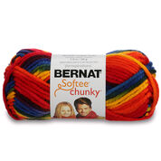 Go to Product: Bernat Softee Chunky Ombres Yarn (80g/2.8oz) in color School Yard