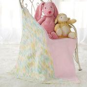 Bernat Half & Half Preemie Baby Blanket